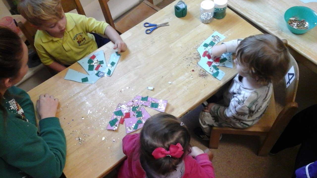 The Children have enjoyed being creative and participating in Christmas Jumper Day.